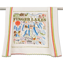 Load image into Gallery viewer, Finger Lakes Dish Towel - catstudio