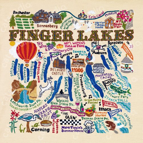 Finger Lakes Fine Art Print - catstudio