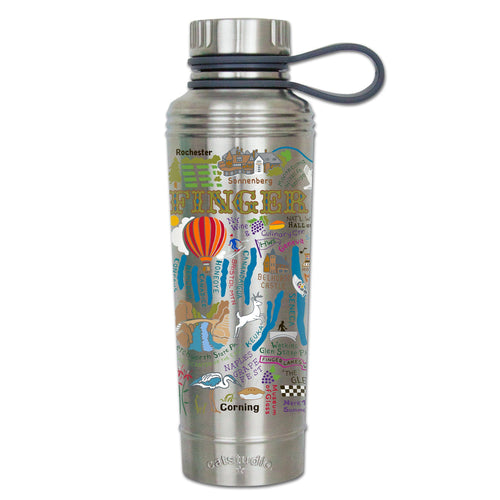 Finger Lakes Thermal Bottle - catstudio