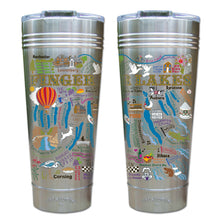 Load image into Gallery viewer, Finger Lakes Thermal Tumbler (Set of 4) - PREORDER Thermal Tumbler catstudio