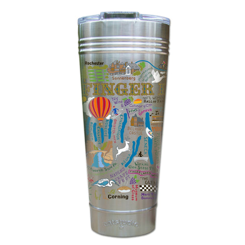Finger Lakes Thermal Tumbler (Set of 4) - PREORDER Thermal Tumbler catstudio
