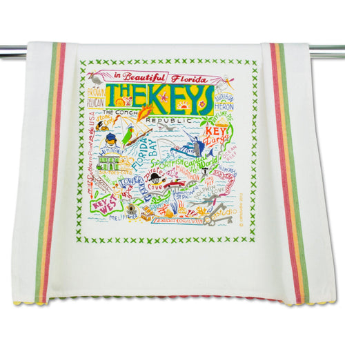 Florida Keys Dish Towel - catstudio