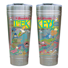 Load image into Gallery viewer, Florida Keys Thermal Tumbler (Set of 4) - PREORDER Thermal Tumbler catstudio