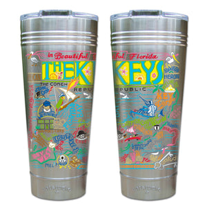 Florida Keys Thermal Tumbler (Set of 4) - PREORDER Thermal Tumbler catstudio