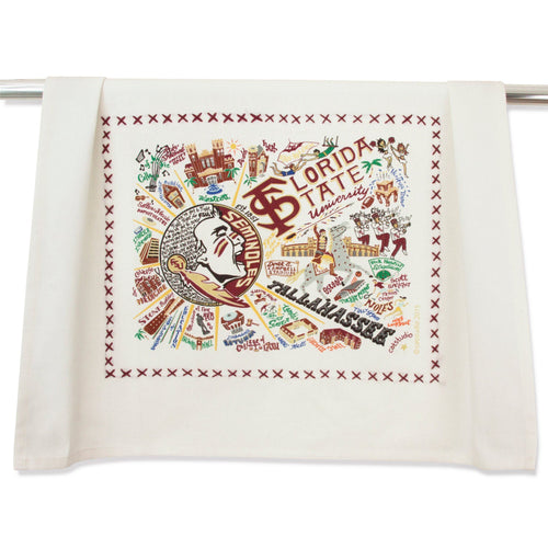 Florida State University Collegiate Dish Towel - catstudio