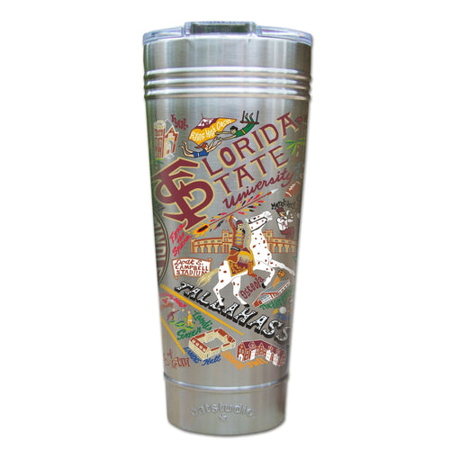Florida State University Collegiate Thermal Tumbler (Set of 4) - PREORDER Thermal Tumbler catstudio