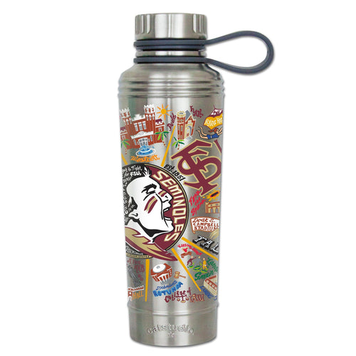 Florida State University Collegiate Thermal Bottle - catstudio