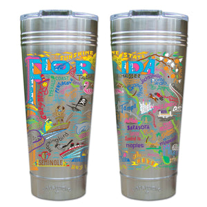 Florida Thermal Tumbler (Set of 4) - PREORDER Thermal Tumbler catstudio