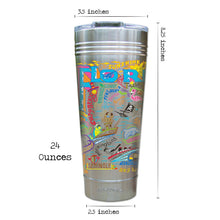 Load image into Gallery viewer, Florida Thermal Tumbler (Set of 4) - PREORDER Thermal Tumbler catstudio