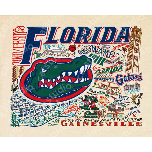 Florida, University of Collegiate Fine Art Print - catstudio