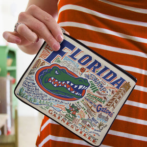 Florida, University of Collegiate Zip Pouch - catstudio