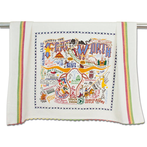 Fort Worth Dish Towel - catstudio