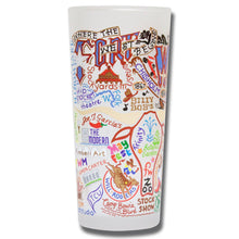 Load image into Gallery viewer, Fort Worth Drinking Glass - catstudio