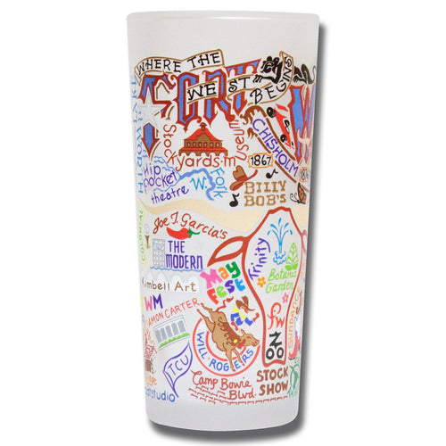 Fort Worth Drinking Glass - catstudio