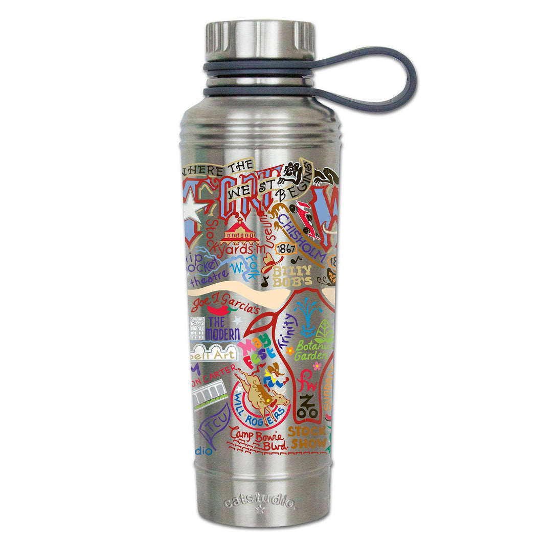 Fort Worth Thermal Bottle - catstudio