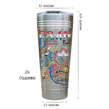 Load image into Gallery viewer, France Thermal Tumbler (Set of 4) - PREORDER Thermal Tumbler catstudio