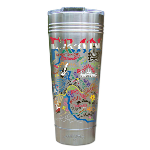 France Thermal Tumbler (Set of 4) - PREORDER Thermal Tumbler catstudio