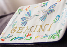 Load image into Gallery viewer, Gemini Astrology Zip Pouch - catstudio