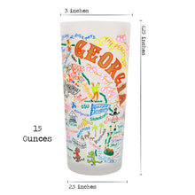 Load image into Gallery viewer, Georgia Drinking Glass - catstudio