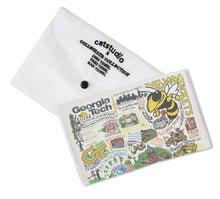 Load image into Gallery viewer, Georgia Tech Collegiate Dish Towel - catstudio