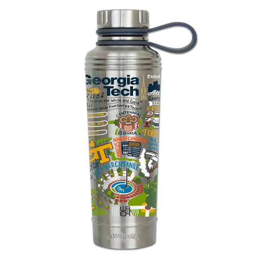 Georgia Tech Collegiate Thermal Bottle - catstudio