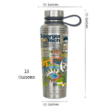Load image into Gallery viewer, Georgia Tech Collegiate Thermal Bottle - catstudio