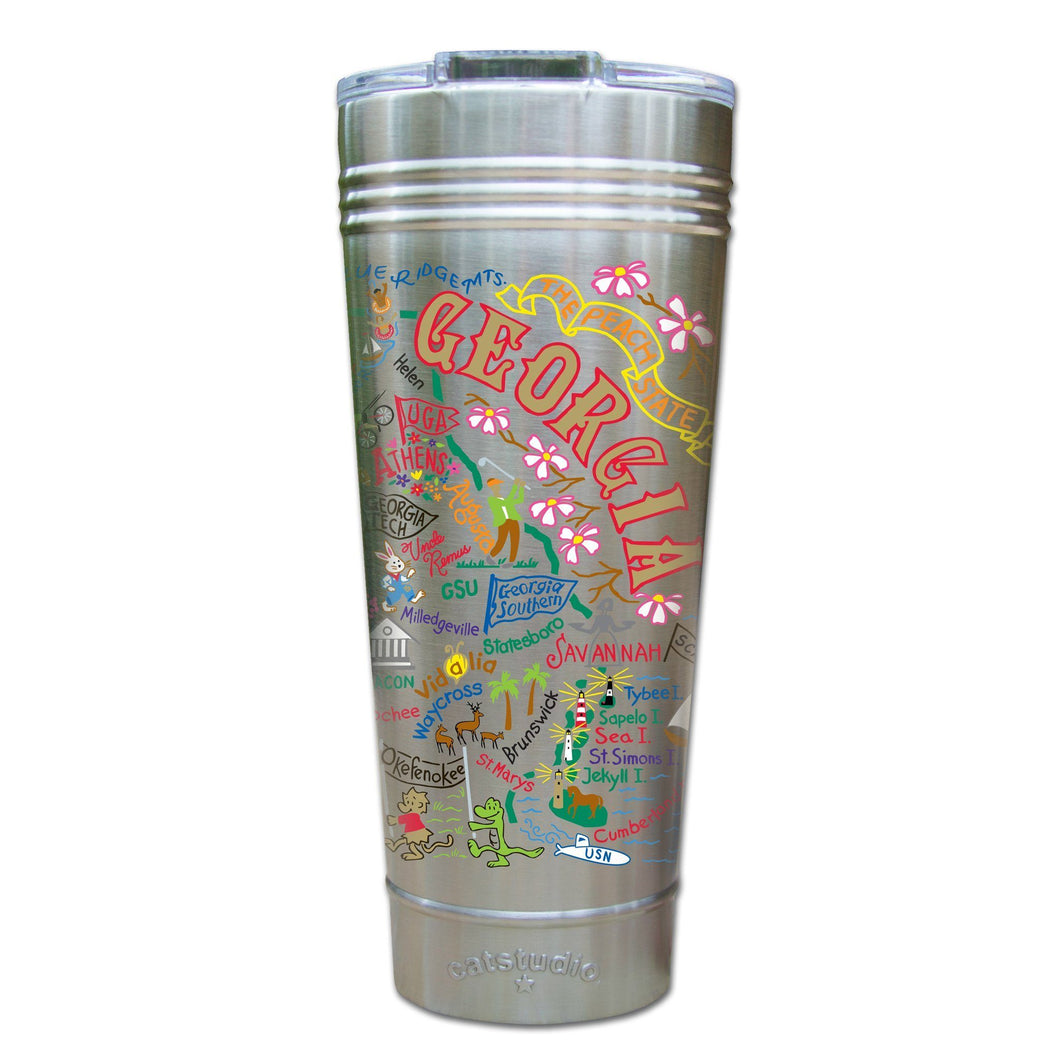 Georgia Thermal Tumbler (Set of 4) - PREORDER Thermal Tumbler catstudio
