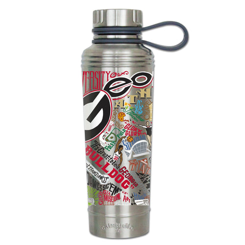 Georgia, University of Collegiate Thermal Bottle - catstudio