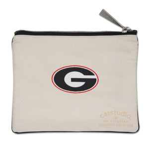 Georgia, University of Collegiate Zip Pouch - catstudio