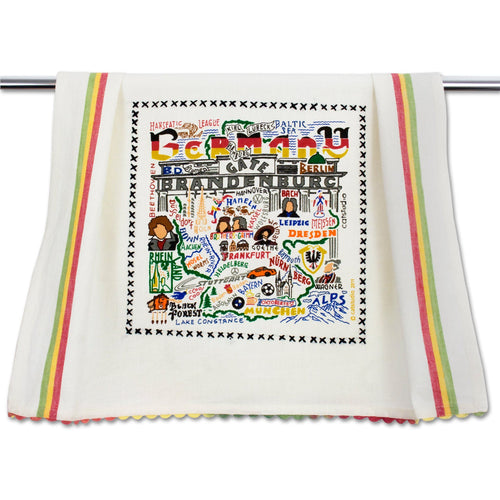 Germany Dish Towel - catstudio