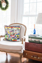 Load image into Gallery viewer, Germany Hand-Embroidered Pillow - catstudio