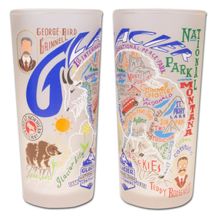 Glacier Park Drinking Glass - catstudio
