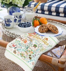 Golden Isles Dish Towel - catstudio