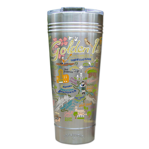 Golden Isles Thermal Tumbler (Set of 4) - PREORDER Thermal Tumbler catstudio