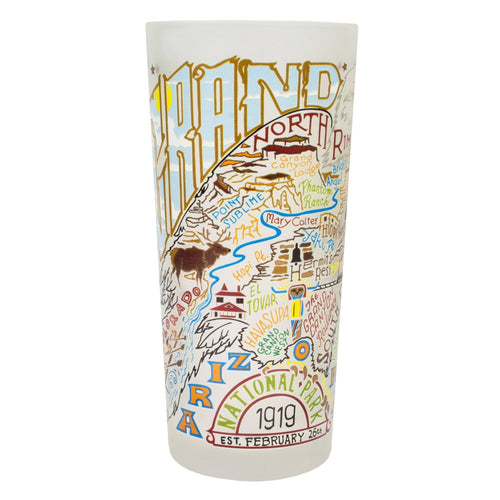 Grand Canyon Drinking Glass - catstudio