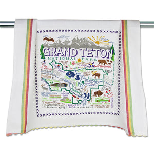 Grand Teton Dish Towel - catstudio