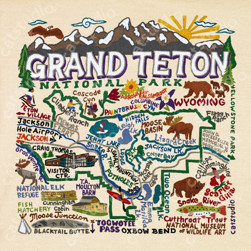 Grand Teton Fine Art Print - catstudio