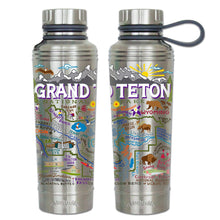 Load image into Gallery viewer, Grand Teton Thermal Bottle - catstudio