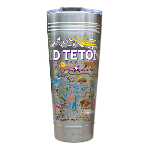 Grand Teton Thermal Tumbler (Set of 4) - PREORDER Thermal Tumbler catstudio
