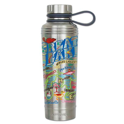 Great Lakes Thermal Bottle - catstudio