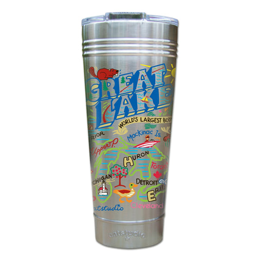 Great Lakes Thermal Tumbler (Set of 4) - PREORDER Thermal Tumbler catstudio