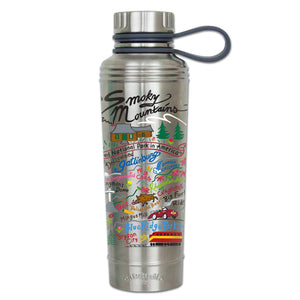 Great Smoky Mountains Thermal Bottle - catstudio