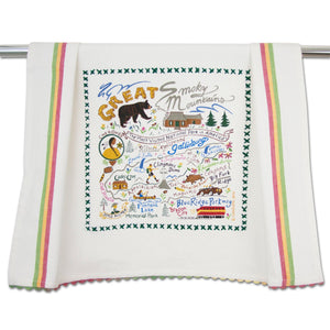 Great Smoky Mountains Dish Towel - catstudio