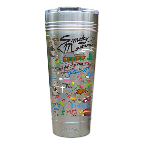 Great Smoky Mountains Thermal Tumbler (Set of 4) - PREORDER Thermal Tumbler catstudio