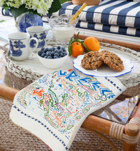 Load image into Gallery viewer, Greece Dish Towel - catstudio