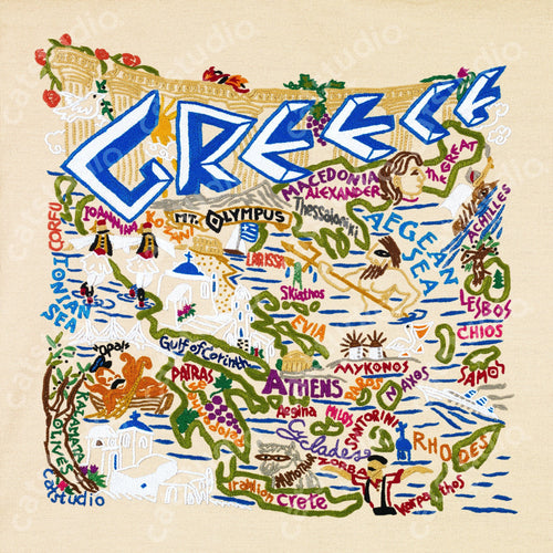 Greece Fine Art Print - catstudio