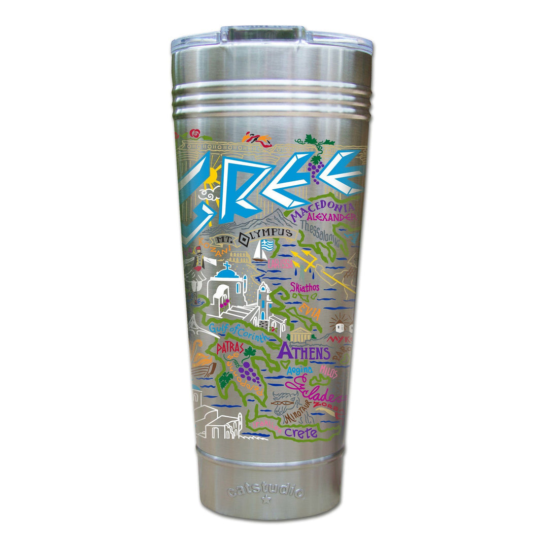 Greece Thermal Tumbler (Set of 4) - PREORDER Thermal Tumbler catstudio