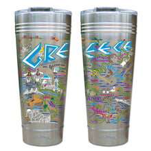 Load image into Gallery viewer, Greece Thermal Tumbler (Set of 4) - PREORDER Thermal Tumbler catstudio