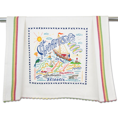 Hamptons Dish Towel - catstudio