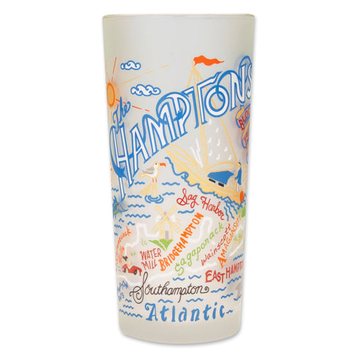 Hamptons Drinking Glass - catstudio